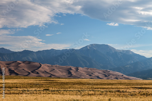 Fotografia  This is Great Sand Dunes National Park in Colorado, where the sand dunes are not white