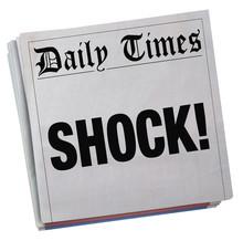 Big Surprise Newspaper Headlin...