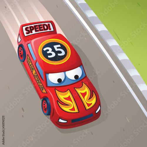 Fotografía  Racing Red