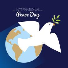 International Peace Day Dove F...