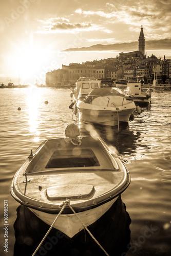 City on the water old town rovinj - croatia