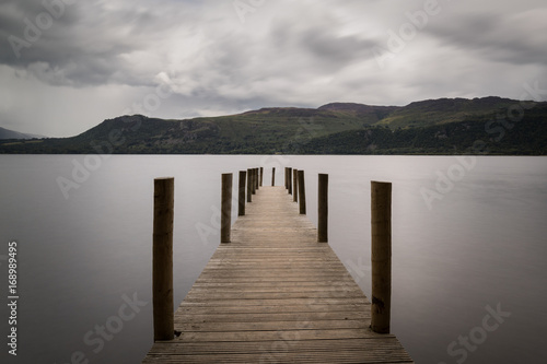 Fotografie, Obraz  High Brandelhow Jetty on Derwent Water in the Lake District