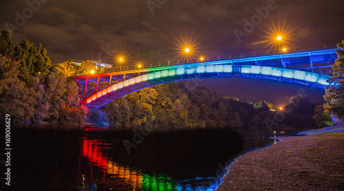 Fotomural Bridge St, Hamilton, New Zealand