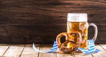Oktoberfest Bier Hintergrund