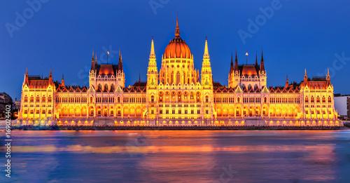 Fotografie, Obraz  Parlamento Budapest