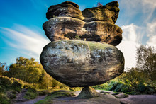 Idol Rock, Brimham Rocks, York...