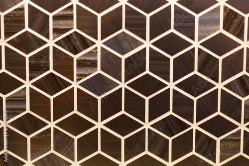 Spoed Fotobehang Geometrisch Tile texture background