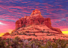 Colorful Sunset At Bell Rock I...