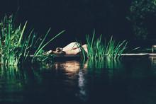 Naked Woman In A Natural Envir...