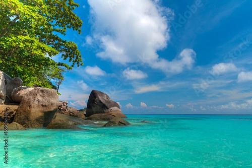 Foto op Aluminium Cathedral Cove Tropical scenery of Similan islands, Thailand