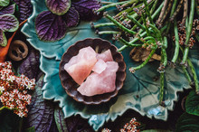 Mixed Specimens And Rose Quartz