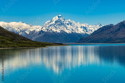 Obraz na plátně Mount Cook in New Zealand