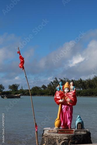 Fotografie, Obraz  sanctuaire hindou