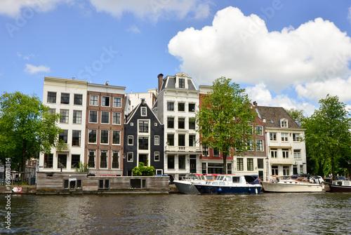 Aluminium Prints Amsterdam Houses Amsterdam