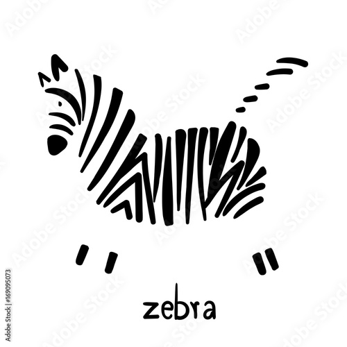 zebra-stripes-abstract-cartoon-cute-in-a-white-background