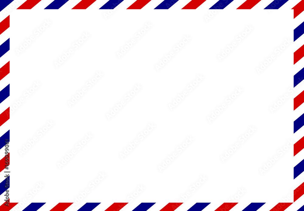 Fototapeta Post card frame vector