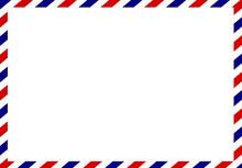 Post Card Frame Vector