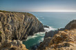 Coastline Rocky Landscape Exposure done in the South Coast of Portugal