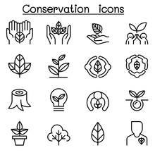 Eco Friendly & Conservation Ic...