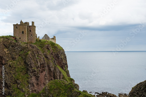 Dunnottar Castle in Scotland Wallpaper Mural