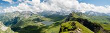 Swiss Alps Near Melchsee Frutt