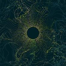 Abstract Big Data Illustration...