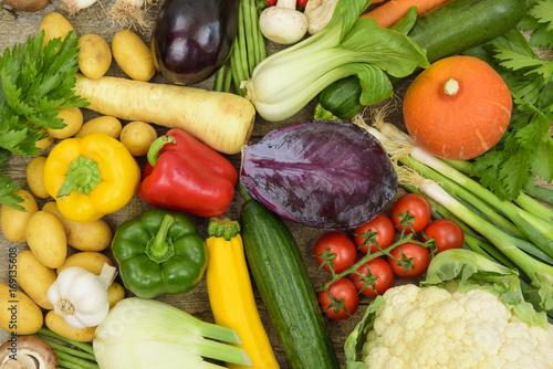 Fotobehang Groenten Frisches Gemüse vom Markt
