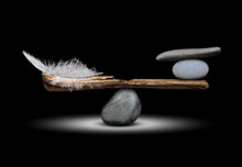 The Balance Of Stones And Feathers