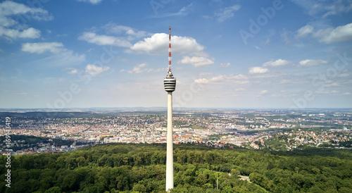 Foto auf Leinwand Europäische Regionen Stuttgart