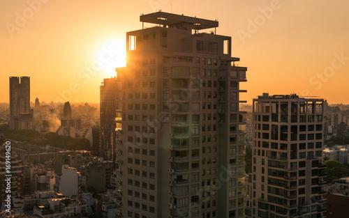 Keuken foto achterwand Buenos Aires Skyline Buenos Aires