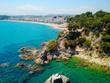 Spain sea – Lloret de mar. Aerial view