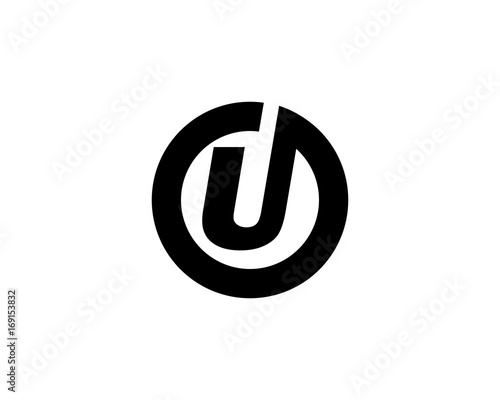 Fototapety, obrazy: U Letter Logo Business Template Vector icon