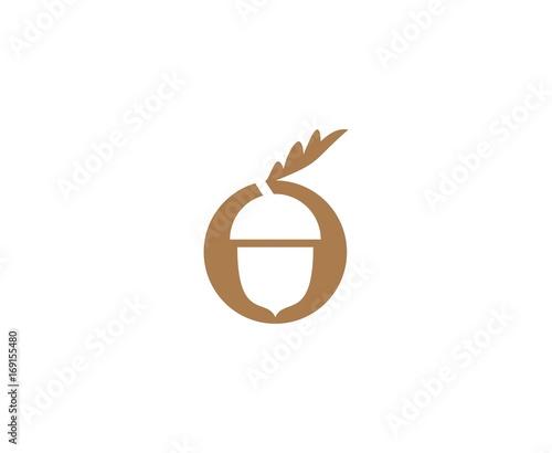 Acorn logo Canvas Print