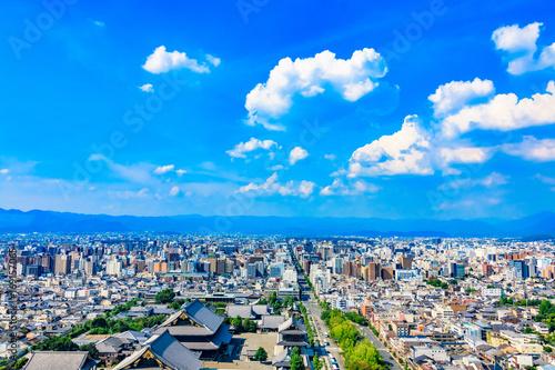 In de dag Kyoto 都市風景 京都