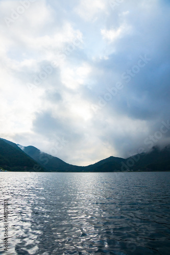 Poster Scandinavie 早朝の西湖