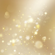 New year and Xmas Defocused Background With Blinking Stars. EPS 10 vector