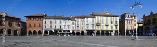 Piazza della Vittoria a Lodi Lombardia Italia Europa Canvas Print