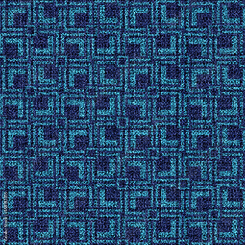 Blue Carpet Texture As Background To Design High Resolution