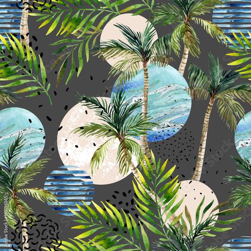 abstrakcjonistycznego-lata-tropikalny-drzewka-palmowego-tlo