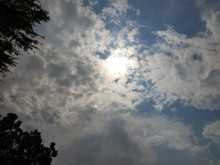 The Sun During A Partial Solar...
