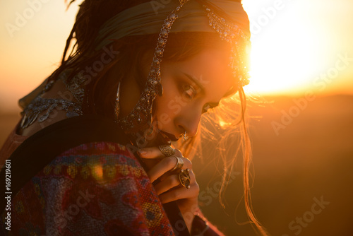 Cadres-photo bureau Gypsy wild beauty of gypsy