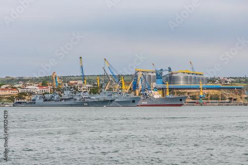 Photo The ships of the Ukrainian Navy
