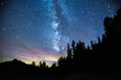 canvas print picture - Our Galaxy Beyond