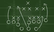 Vector Football Play. Football...