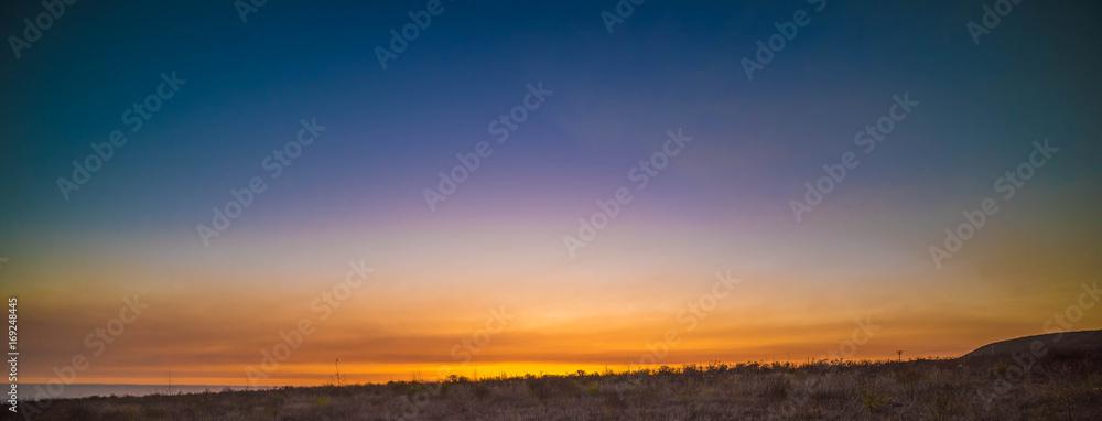 Fototapety, obrazy: Sunset in California
