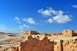 Ruins of fortress Masada, Israe