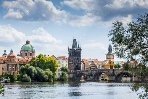 Staande foto Praag Die Altstadt von Prag - PRAHA 1 - erster Bezirk, Tschechische Republik