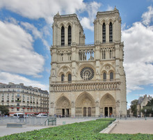 Notre-Dame Cathedral In Paris,...
