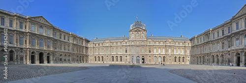 Fotografie, Obraz  Louvre Museum in Paris, France.