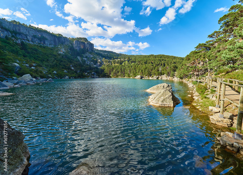 Laguna Negra del Parque Natural de los Picos y Circos Glaciares de Urbión, en la Provincia de Soria, España
